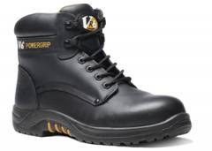 Black Waxy Derby Boot (Size 3 - 13)
