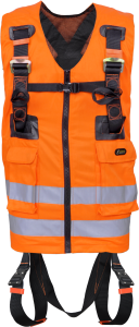 2 Point High-Visibility Full Body Harness - Orange