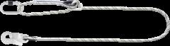 Adjustable Work Positioning Kemmantle Rope Lanyard 2M