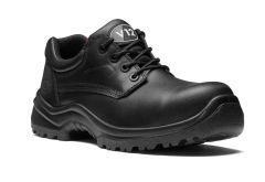 Black Metal-Free 4 Eyelet Shoe (Size 3 - 13)