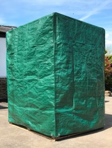 Pallet Cover 140GSM (EURO) - 800mm x 1200mm x 2000mm