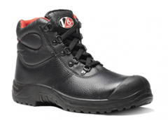 Black 5 D-ring Scuff Cap Boot (Size 3 -13)