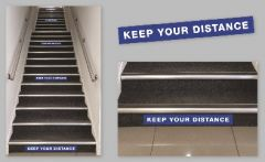 Staircase Label