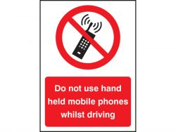 Do Not Use Hand Held Mobiles Whilst Driving